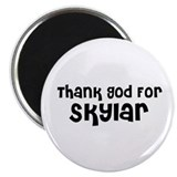 "Thank God For Skylar 2.25"" Magnet (10 pack)"