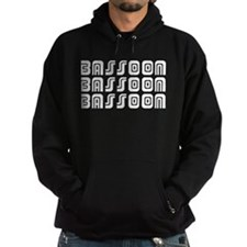 Tribal Bassoon Hoodie (dark)