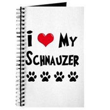 I Love My Schanuzer Journal