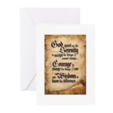 Serenity Scroll Greeting Cards (Pk of 10)
