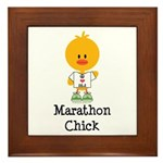 Marathon Chick 26.2 Framed Tile