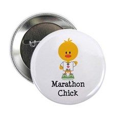 "Marathon Chick 26.2 2.25"" Button (100 pack)"