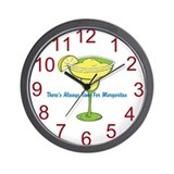 Margarita Time! Wall Clock