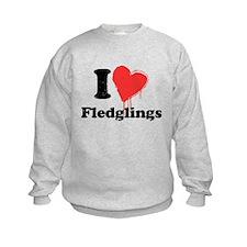 I heart fledglings Sweatshirt