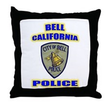 Bell Police Throw Pillow