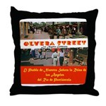 Olvera Street Throw Pillow