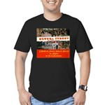 Olvera Street Men's Fitted T-Shirt (dark)
