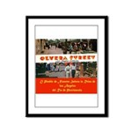 Olvera Street Framed Panel Print
