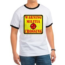 Warning Militia Crossing T