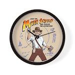 Math Detectives Wall Clock