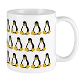 A Ton of Tux Small Mug