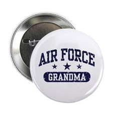 "Air Force Grandma 2.25"" Button"