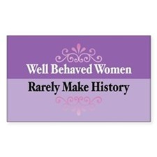 Well Behaved Rectangle Decal