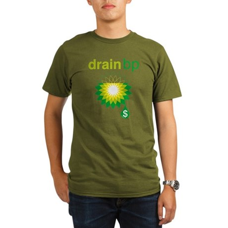 Drain BP Organic Mens Dark T-Shirt