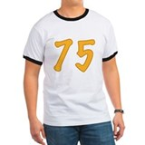 75th Birthday (Orange) T