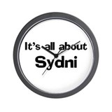 It's all about Sydni Wall Clock
