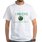 I Recycle White T-Shirt