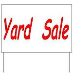 Yard Sale #4 Yard Sign