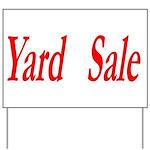 Yard Sale #1 Yard Sign