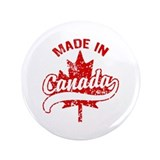 "Made In Canada 3.5"" Button"