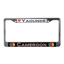 Yaounde, CAMEROON - License Plate Frame