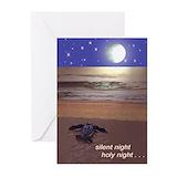 Beach christmas cards Greeting Cards