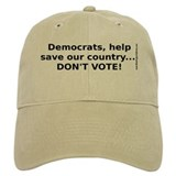 Don't Vote: Baseball Cap