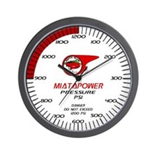 Willamette Valley Miata Club Wall Clock