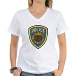 Bureau of Reclamation Police Women's V-Neck T-Shir