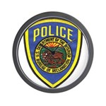 Bureau of Reclamation Police Wall Clock