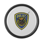 Bureau of Reclamation Police Large Wall Clock