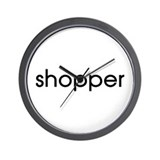 Shopper Wall Clock