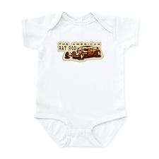 Cute Brown rat Infant Bodysuit