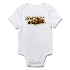 Cute Ratrod Infant Bodysuit