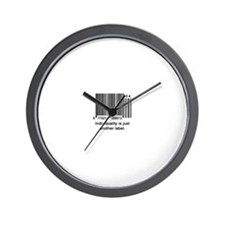 Individuality Wall Clock