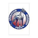 Operation Fido's Freedom Mini Poster Print