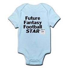 Future Fantasy Football Star Infant Bodysuit
