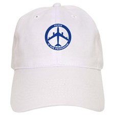 B-47 Peace Sign Baseball Cap