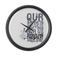 Tamburlaine Large Wall Clock