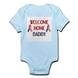 Welcome Home Daddy - Ribbon Infant Bodysuit