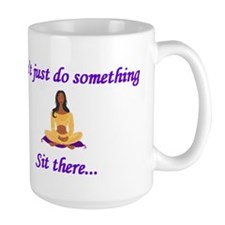 Yoga - Sit There (Woman) Mug