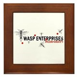 Wasp Enterprises Framed Tile