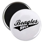 "Beagles Rule 2.25"" Magnet (100 pack)"