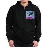 You Bet! Zip Hoodie (dark)