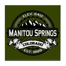 Manitou Springs Tile Coaster