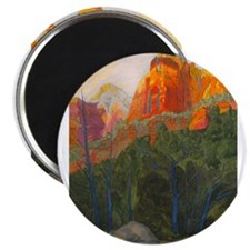 """Forbidden Road's End, Zion 2.25"""" Magnet (10 pack)"""
