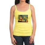 Cat Stealing Cookies Jr. Spaghetti Tank
