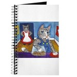 Cat Stealing Cookies Journal