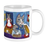 Cat Stealing Cookies Mug