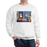 Cat Stealing Cookies Sweatshirt